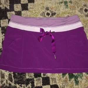 Purple Lululemon Mini skirt